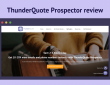 ThunderQuote Prospector Review - Lead Generation in Just 21 Seconds